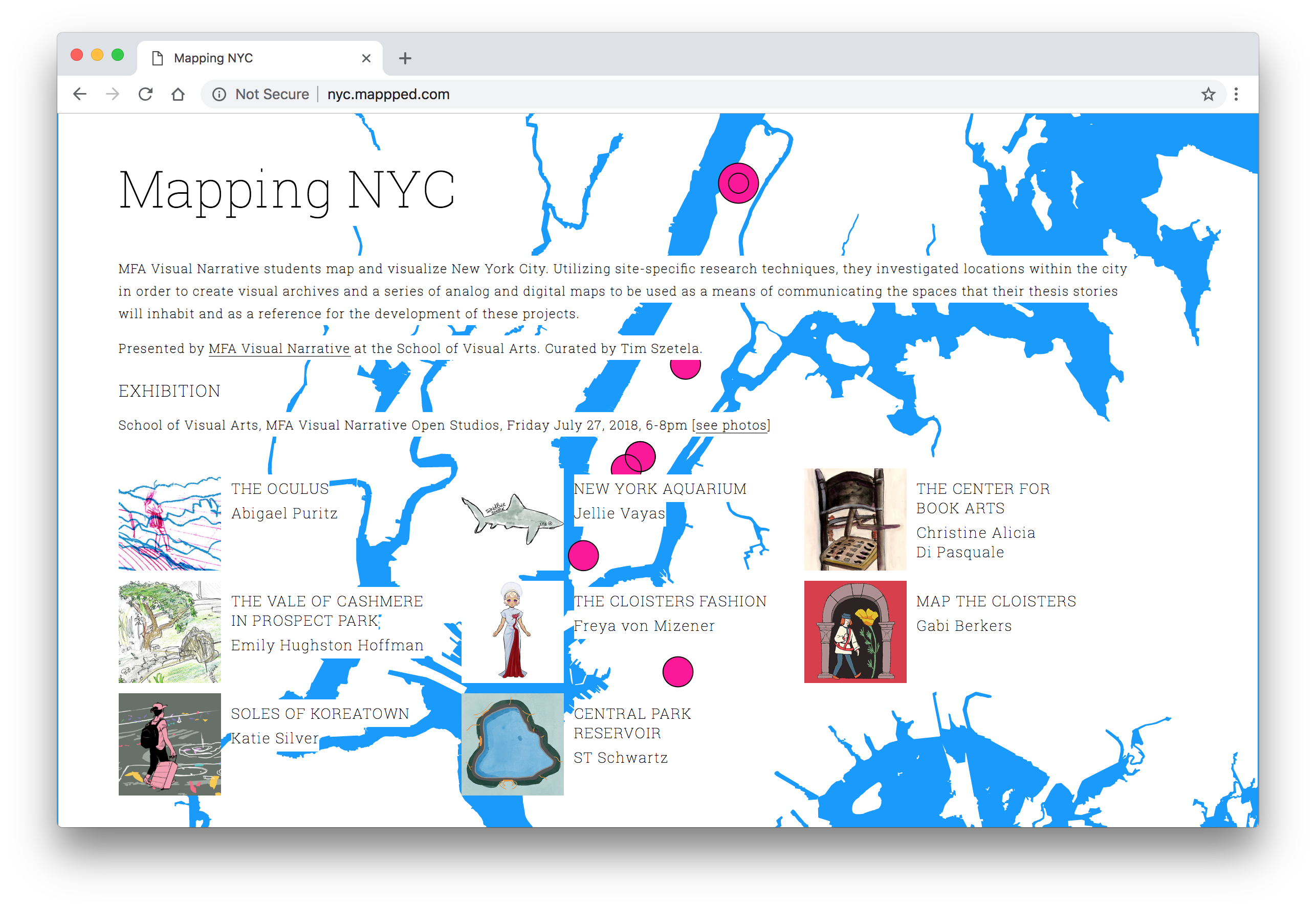 Mapping NYC on